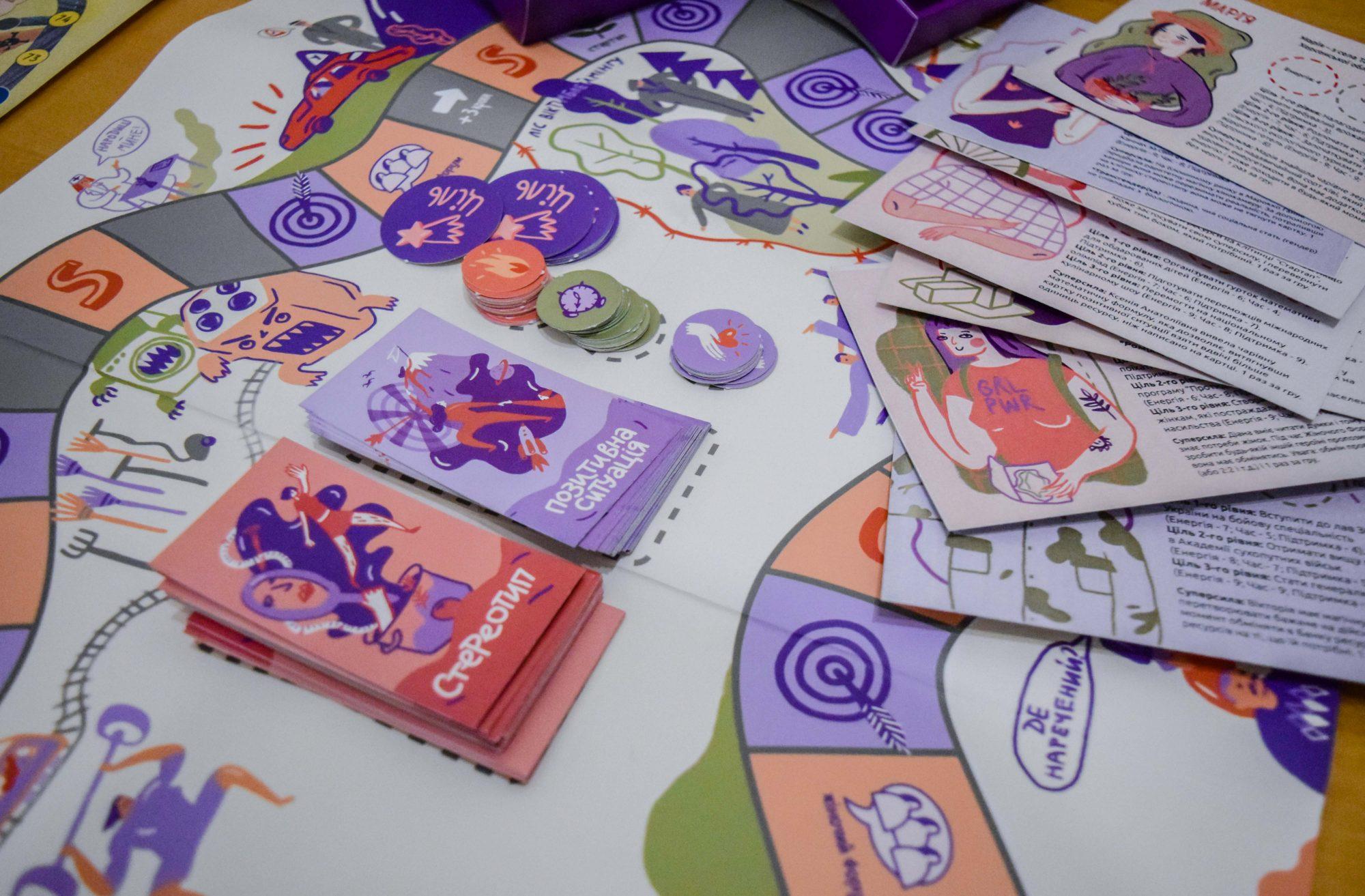 «Переселенська блуканина» и «Бути жінкою»: как создают социальные настольные игры в Украине